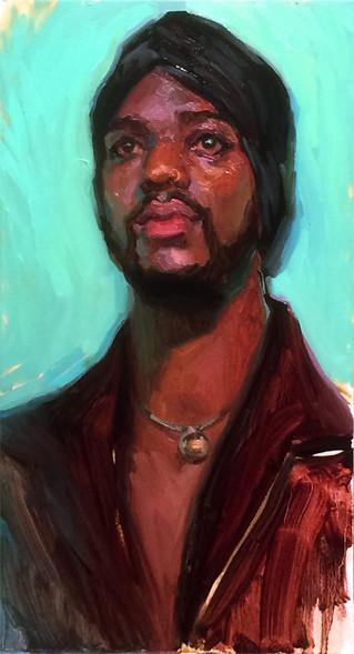 Portrait of Dominique