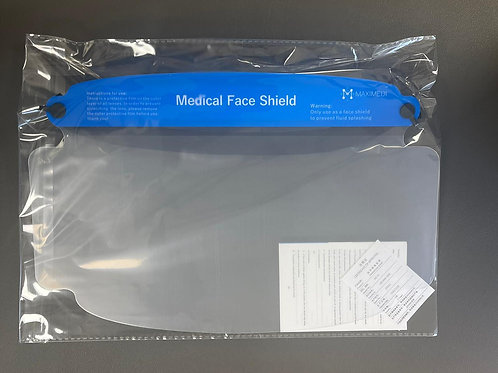 10 Medical Face Shields - Individually Sealed.