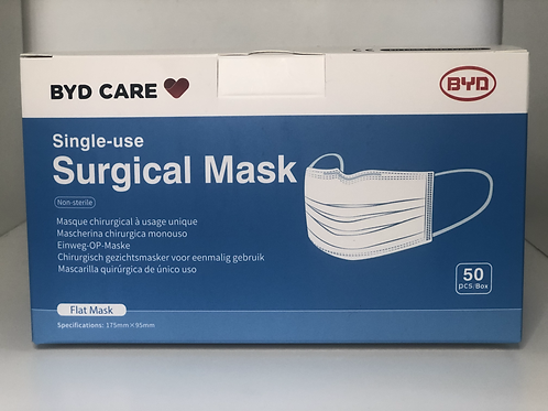 £9.75 Per Box of 50 Type 11R Disposable Surgical Face Masks
