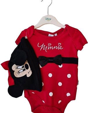 Minnie Mouse Bodysuit Set