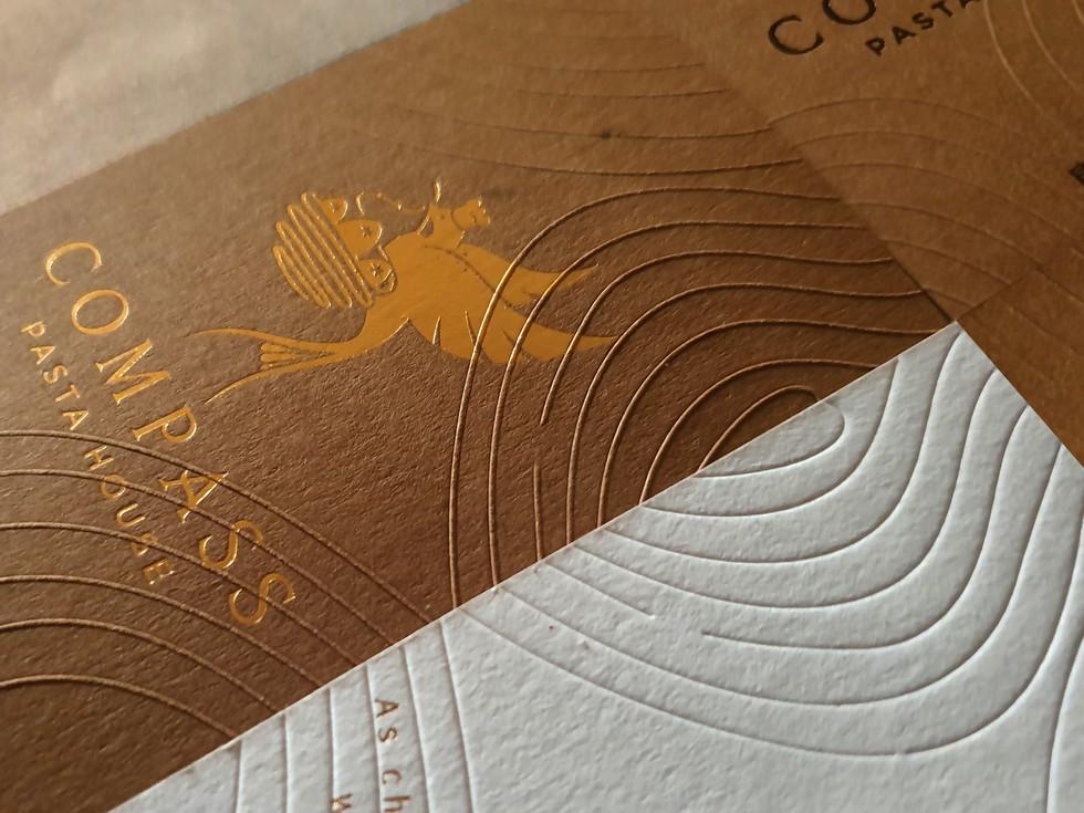Compass pasta 康帕斯義麵屋 | Branding Design