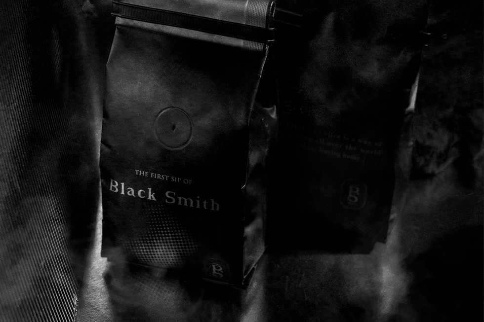 THE FIRST SIP OF Black Smith