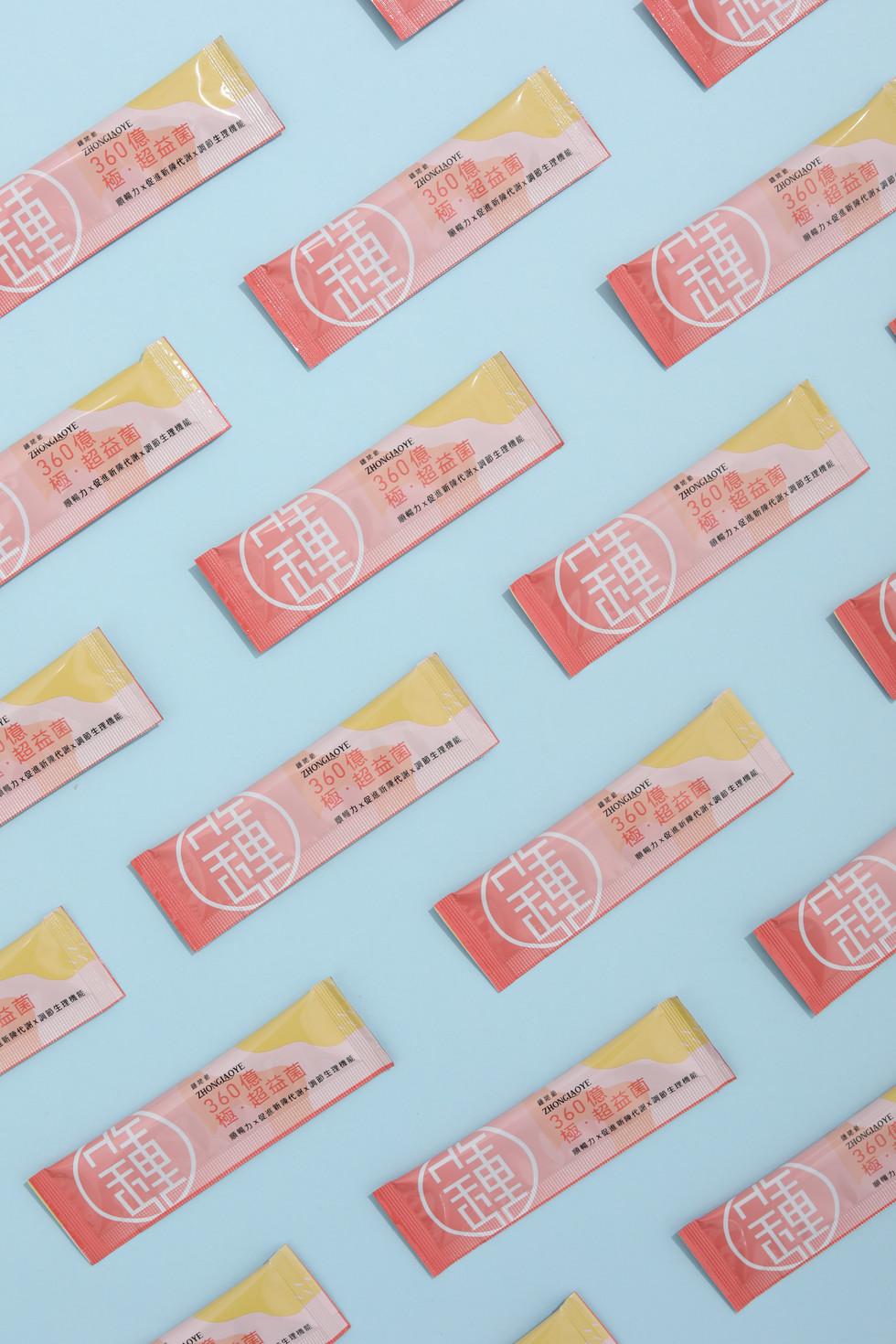 360億超益菌 | Packaging Design