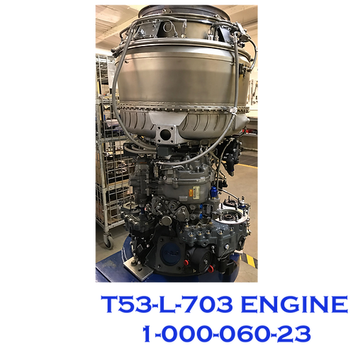 T53-L-703 ENGINE ASSY