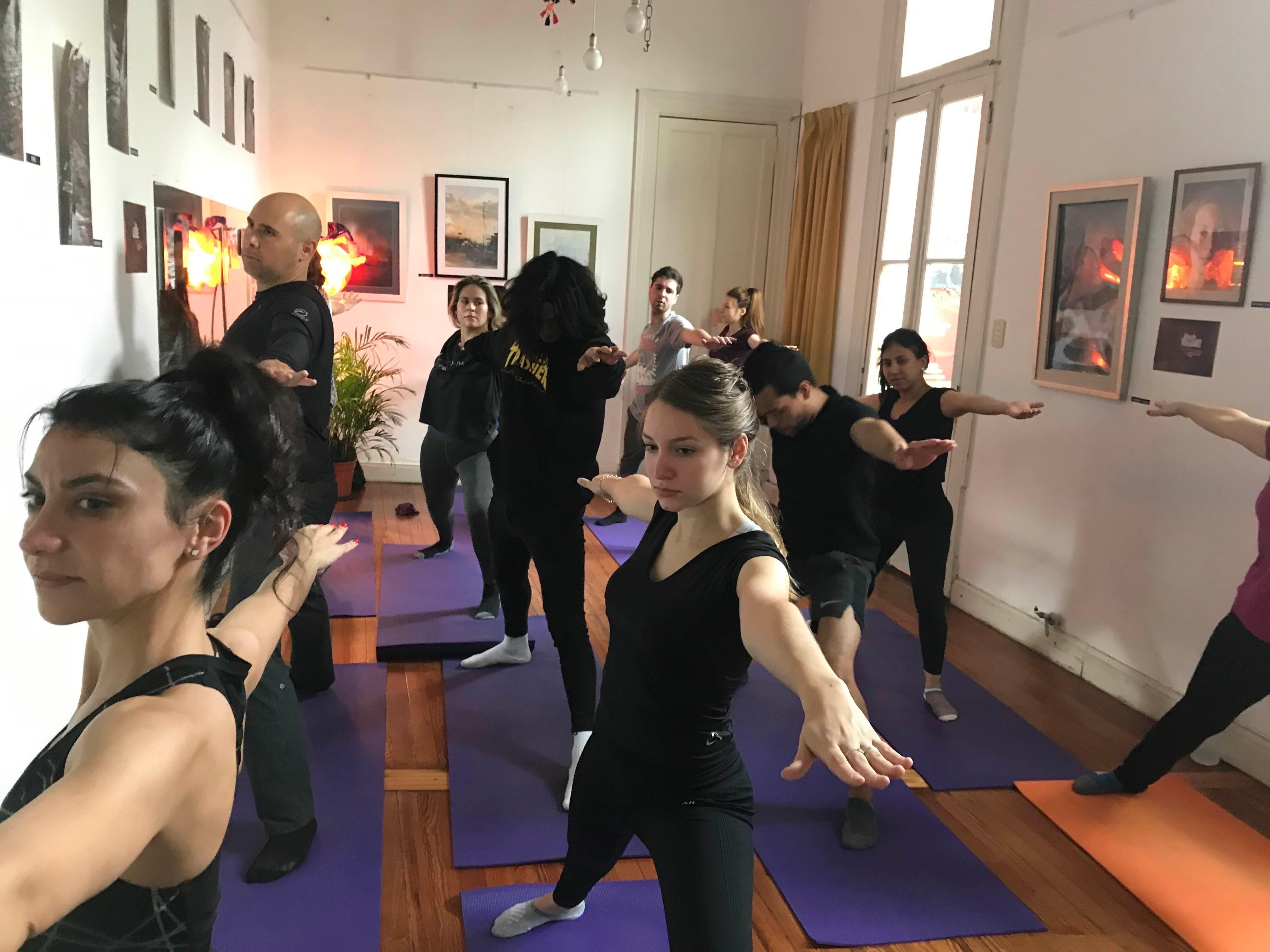 Beginner / Intermediate Yoga