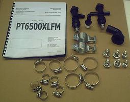 PT6500XLFM Pre-Wet Pump Manual and Har
