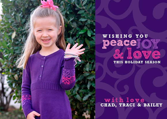 peace, love & violets