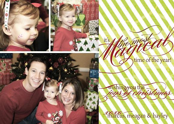 magical christmas - stripe