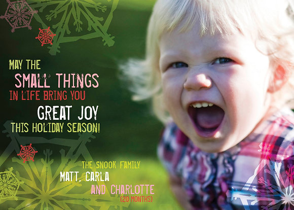 small things, great joy