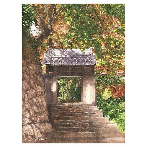 111-秋の山門/有馬