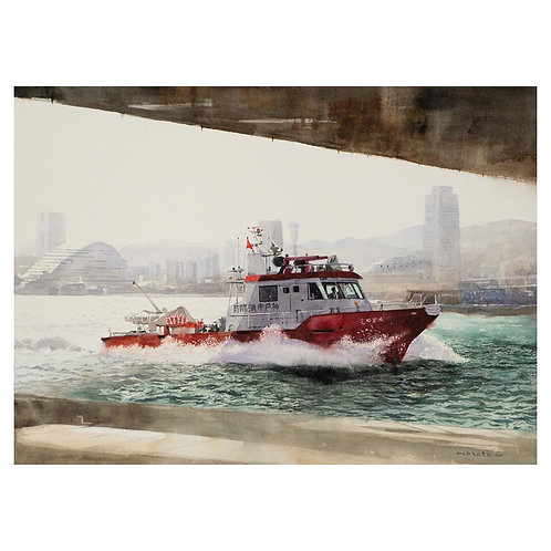 523-消防艇