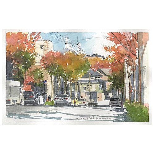 1014-秋の散歩道2