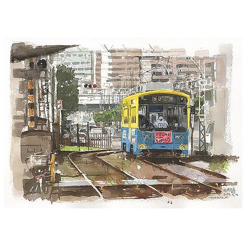 1045-大阪の路面電車2