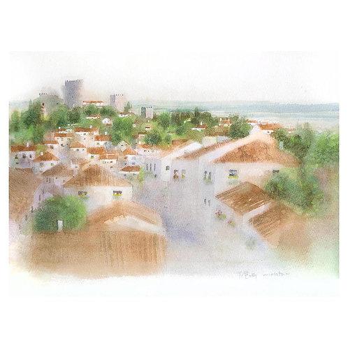 513-異国の風景城壁の町