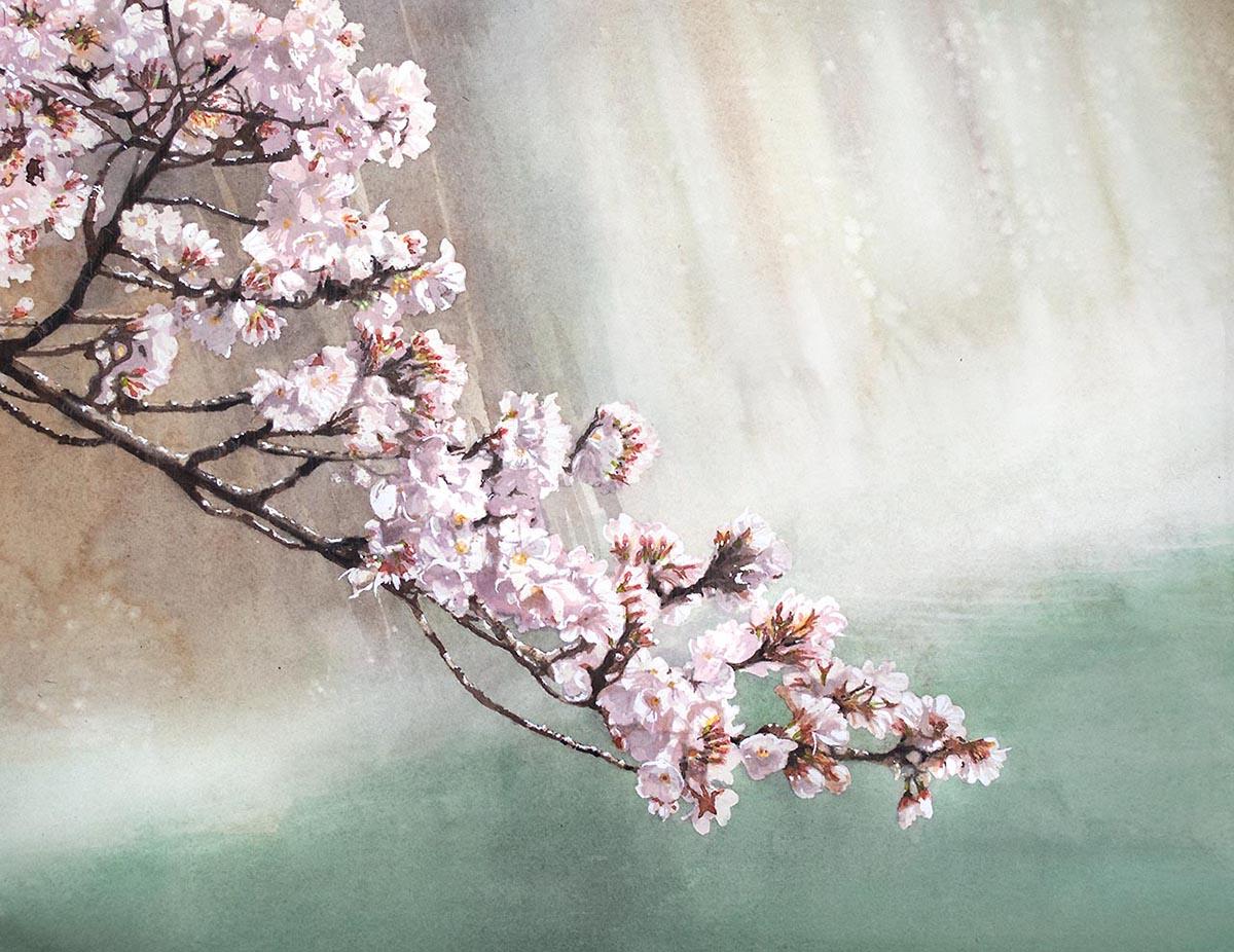 2020-桜と川2