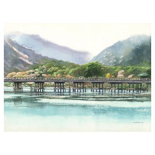 32-京都嵐山渡月橋