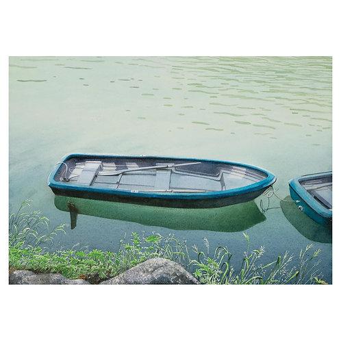 22.手漕ぎボート