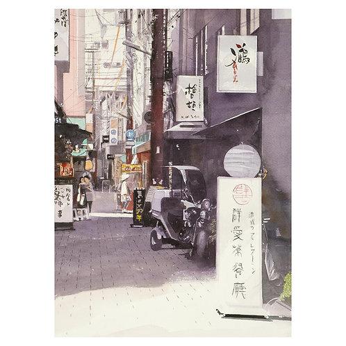 223-神戸南京町路地風景