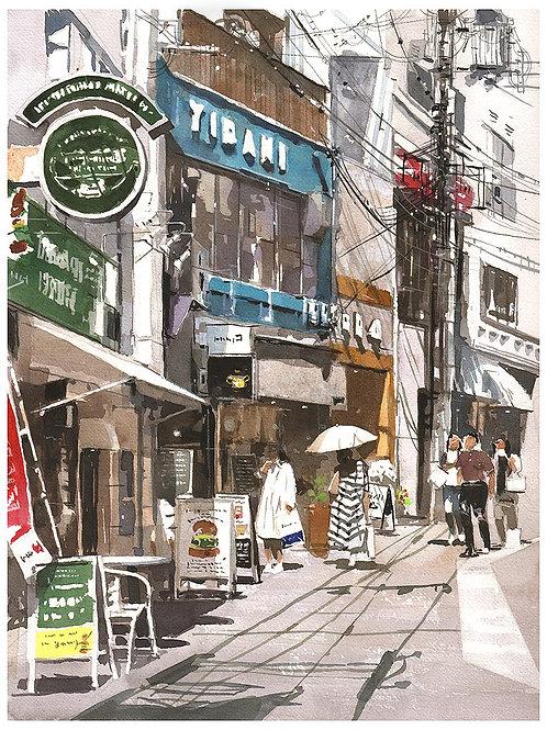 240-神戸元町路地風景