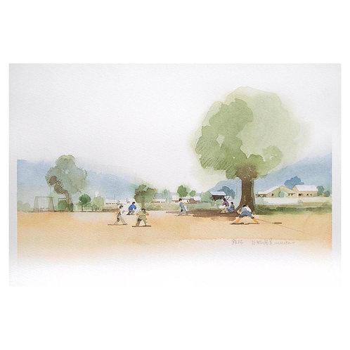704-故郷風景の風景/草野球
