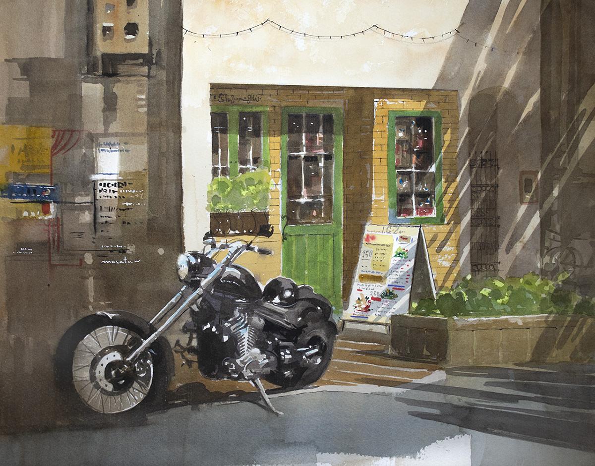 2020-バイクとカフェ
