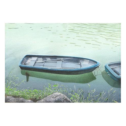 314-手漕ぎボート