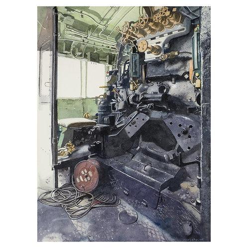 606-SL運転室
