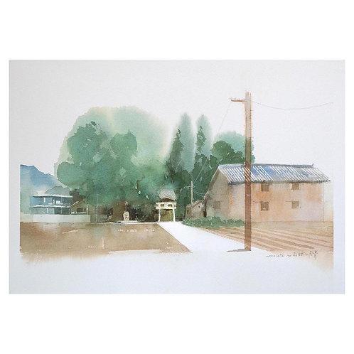 700-故郷風景の風景/神社