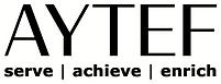 AYTEF Logo w Tag - BLK BLK - WHT Backgro