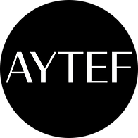 AYTEF Logo NO Tag CIRCLE - WHT - BLK Bac