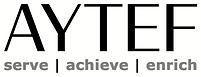 AYTEF Logo w Tag - BLK GRY - WHT Backgro