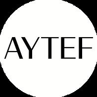 AYTEF Logo NO Tag CIRCLE - BLK - WHT Bac