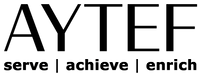 AYTEF Logo w Tag - BLK BLK - NO Backgrou
