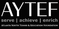 AYTEF Logo Full - WHT GRY - BLK Backgrou