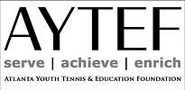AYTEF Logo Full - BLK GRY - WHT Backgrou