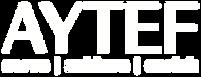 AYTEF Logo w Tag - WHT WHT - NO Backgrou