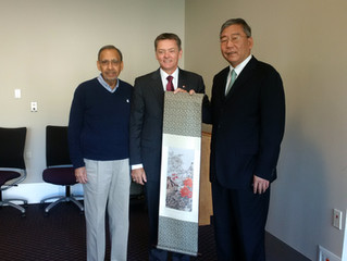 Visit by the Chinese Academy of Governance