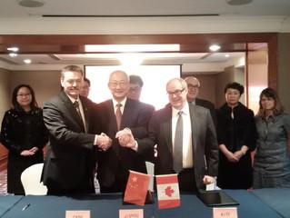 Shanghai Signing Ceremony