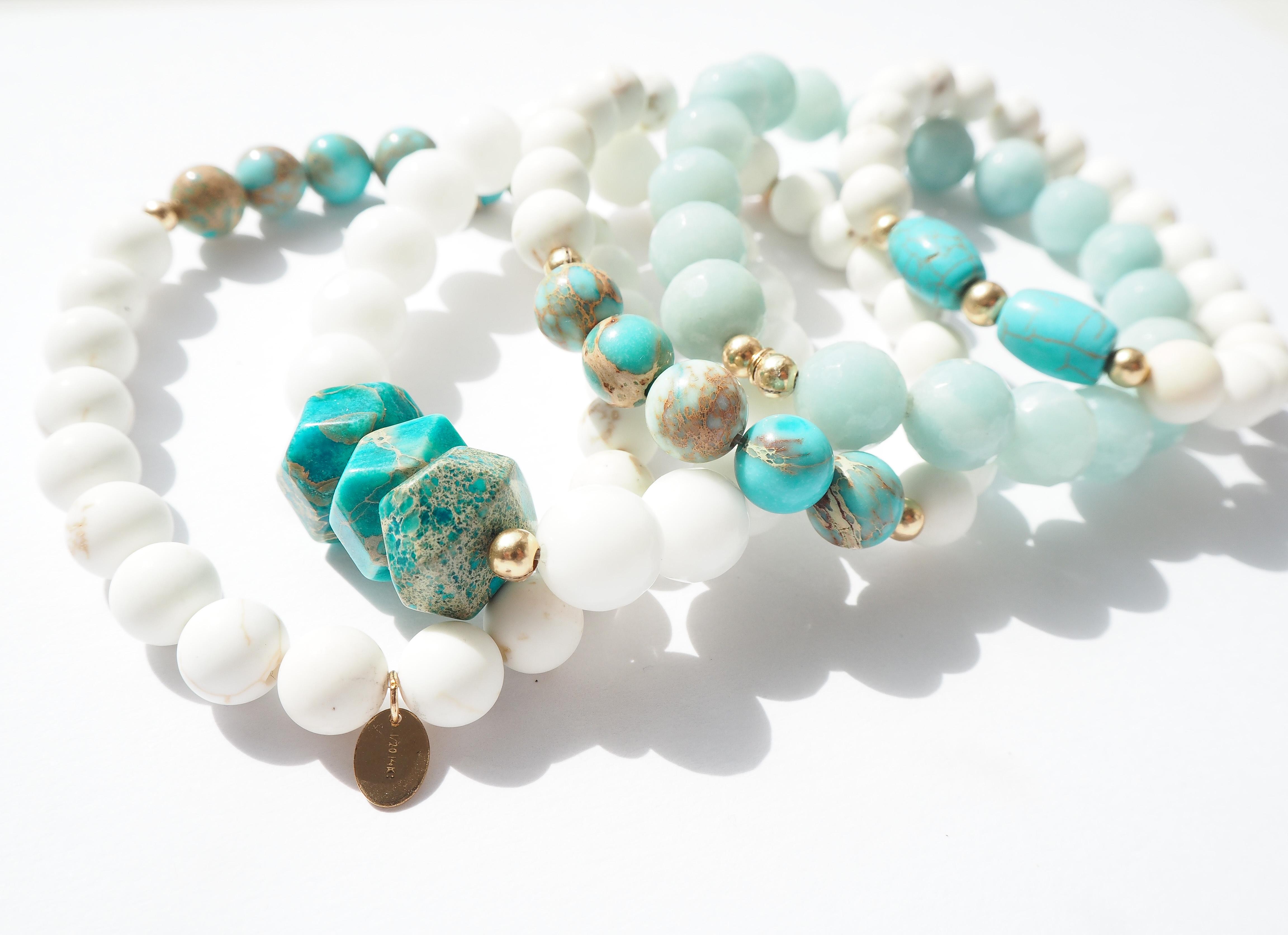 Navy Bay Bracelets