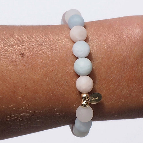 The Kauai | Pastel Stone + 14K Gold-Filled or 925 Sterling Silver