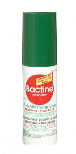 Bactine (pain & swelling relieve)