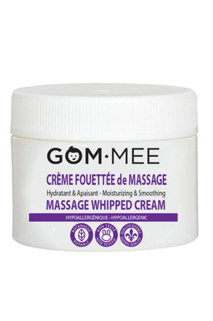Gom mee- Crème fouettée de massage