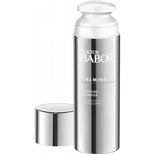 Babor- Trio Lait nettoyant ultra-calmant+Crème ultra-calmante+AHA Peel Pads