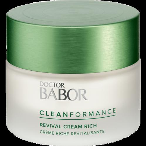Babor- Revival Cream Rich Cleanformance