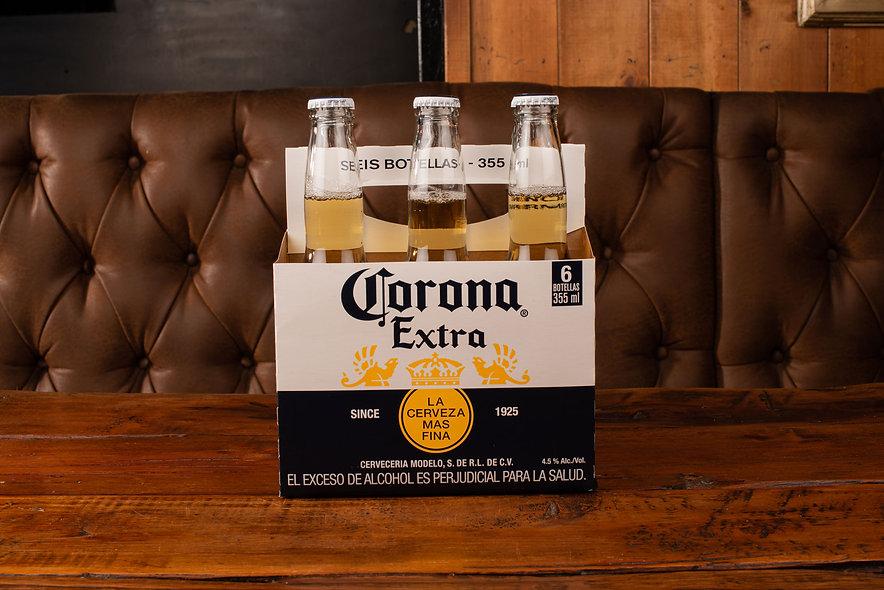 Cerveza corona six pack (355 ml)