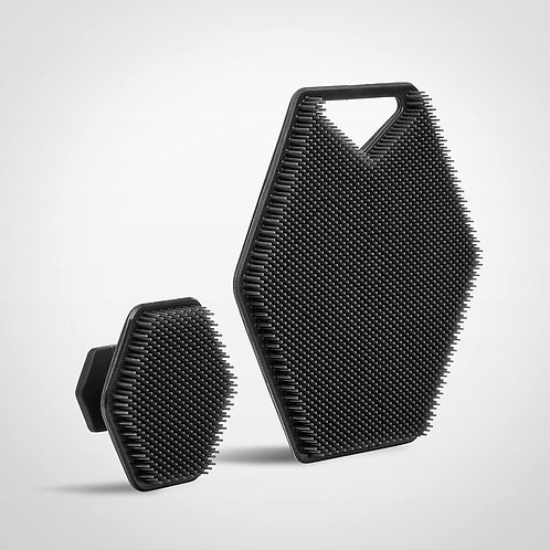 Tooletries- Duo Face & Body Scrubber