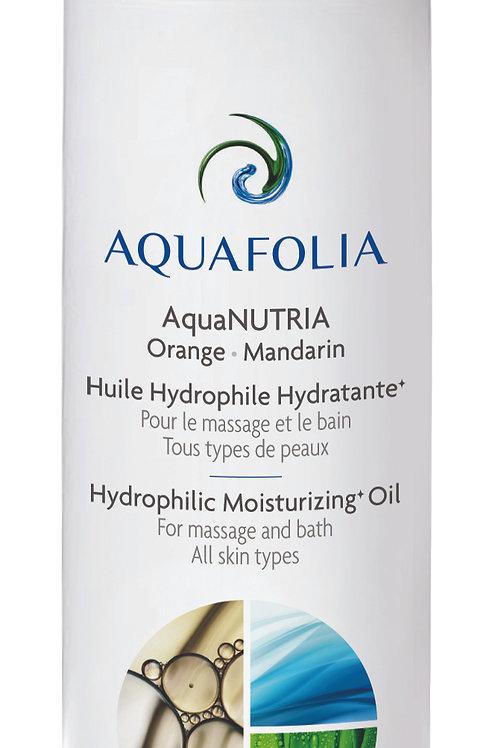 Aquafolia-Huile Hydrophile Hydratante Orange-Mandarin- Concept AquaNUTRIA
