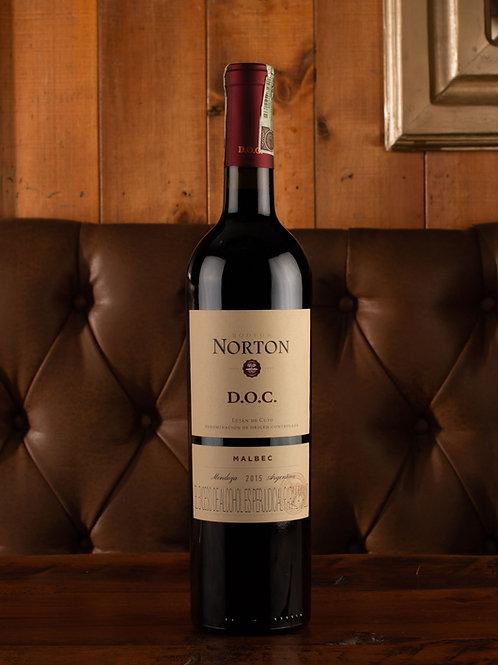 Vino Norton doc malbec Botella (750 ml)