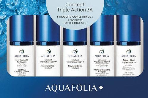 Aquafolia- Coffret Triple Action