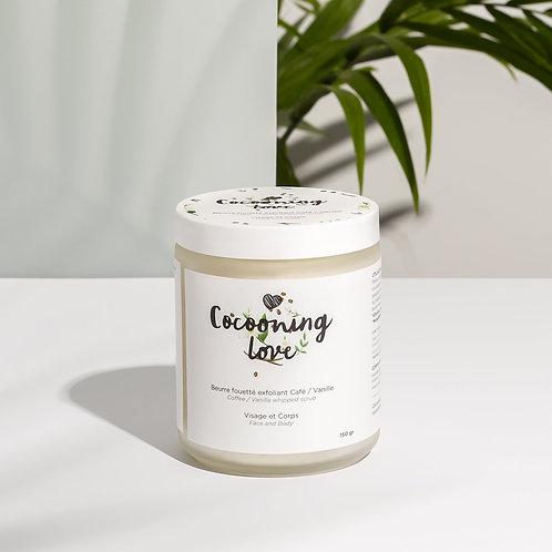 Cocooning Love- Exfoliant fouetté café / vanille